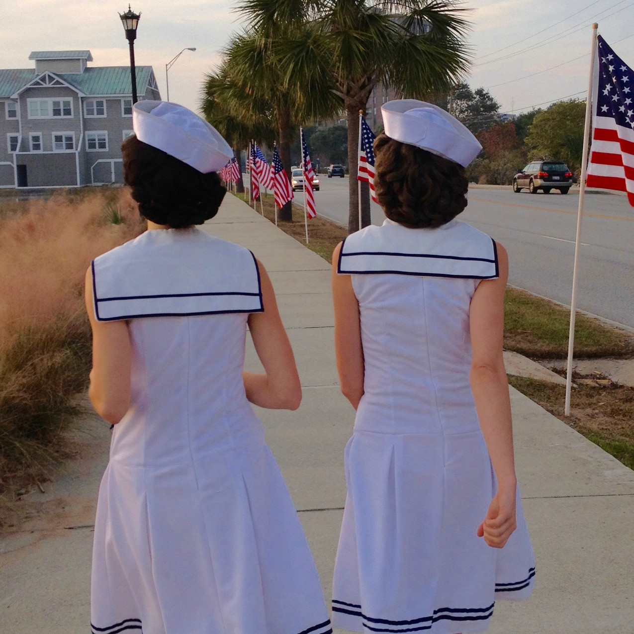 Gracie & Lacy celebrate US veterans and military, providing professional patriotic entertainment nationwide.