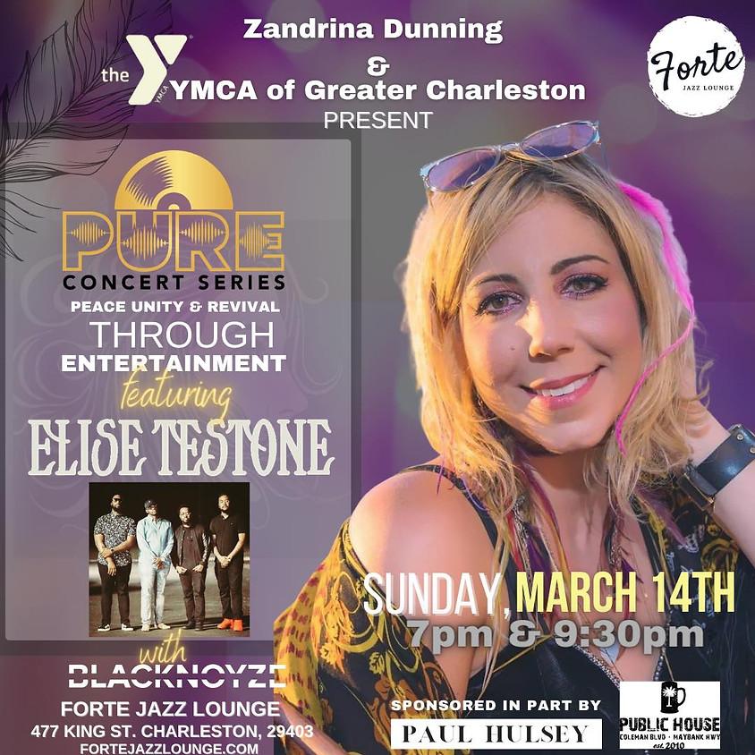 Pure Concert Series: Elise Testone | 7:00pm - 9:00pm
