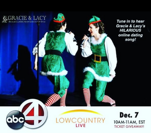 Gracie & Lacy Elf Holiday Singer