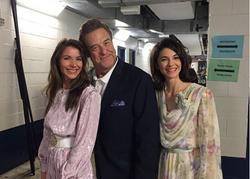 Gracie & Lacy with John Goodman