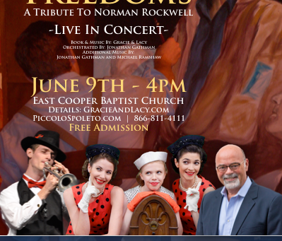 Press Release: The Four Freedoms - A Tribute To Norman Rockwell