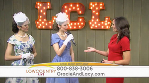 Gracie & Lacy on Lowcountry Live ABC 4