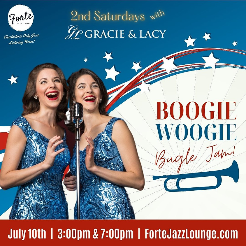 Gracie & Lacy: Boogie Woogie Bugle Jam! | 7:00pm - 9:00pm