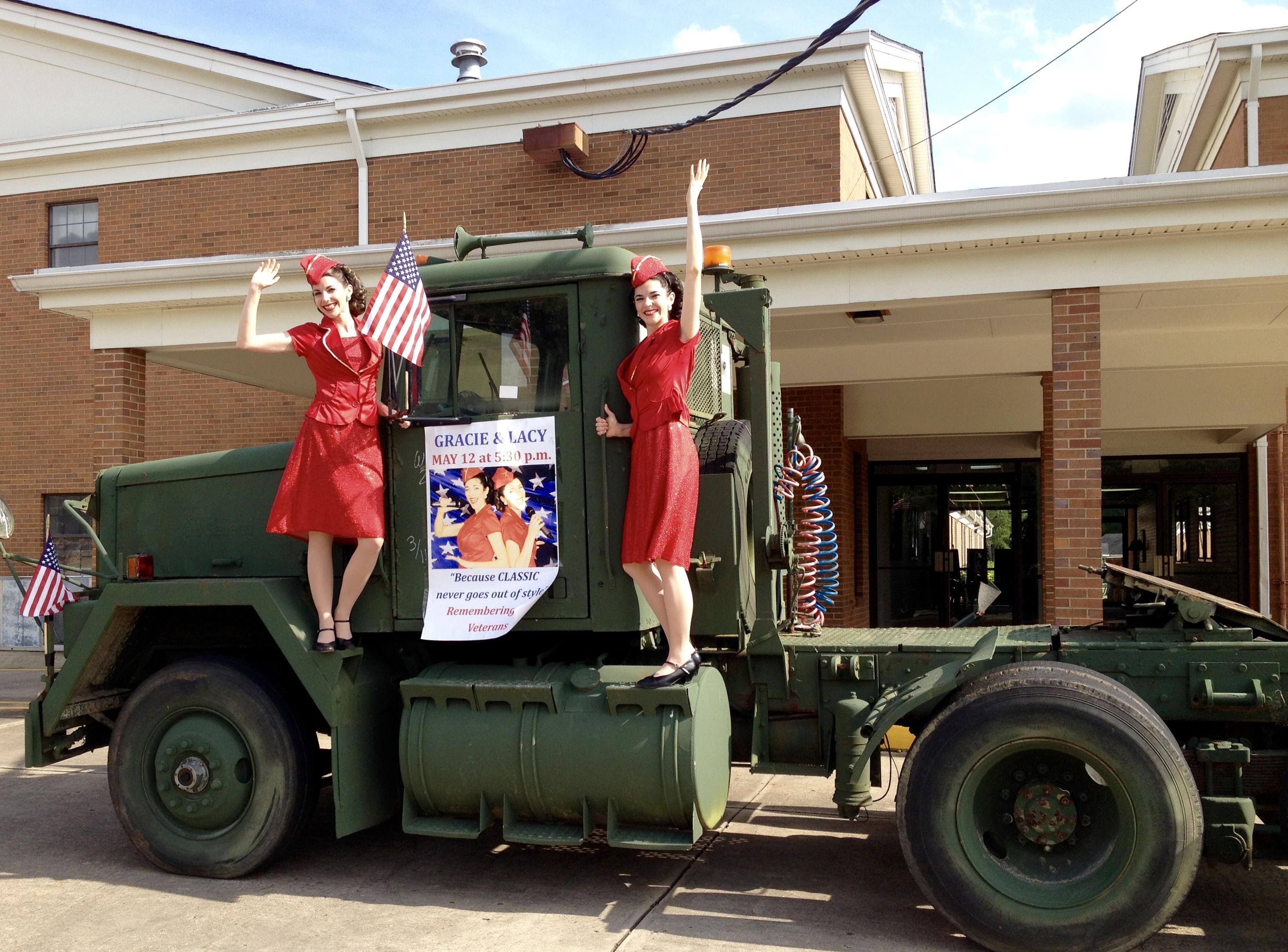Gracie & Lacy Veterans Tribute