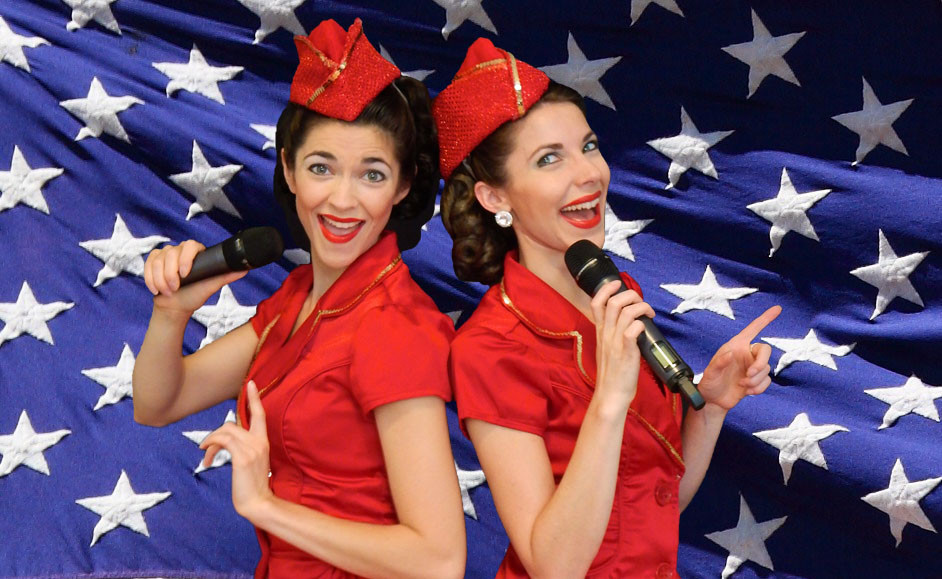 Gracie & Lacy - Let Freedom Swing Show - Dorchester County Library