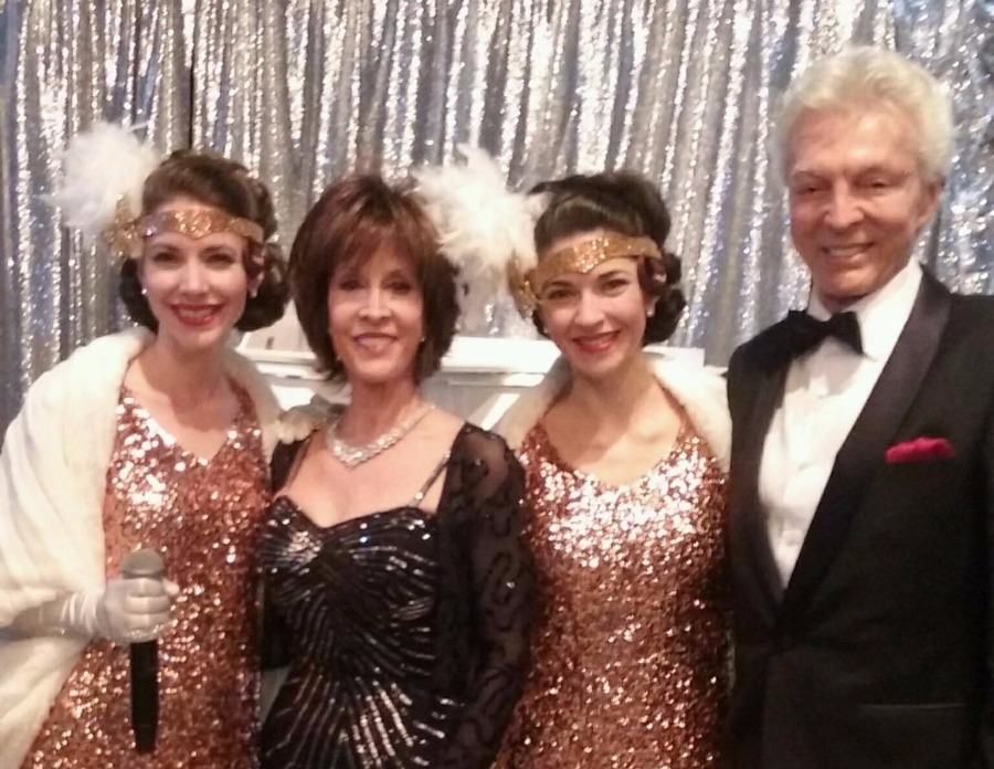 Gracie & Lacy With Deana Martin