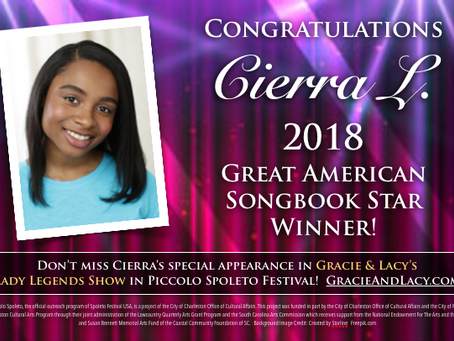 2018 Great American Songbook Star!