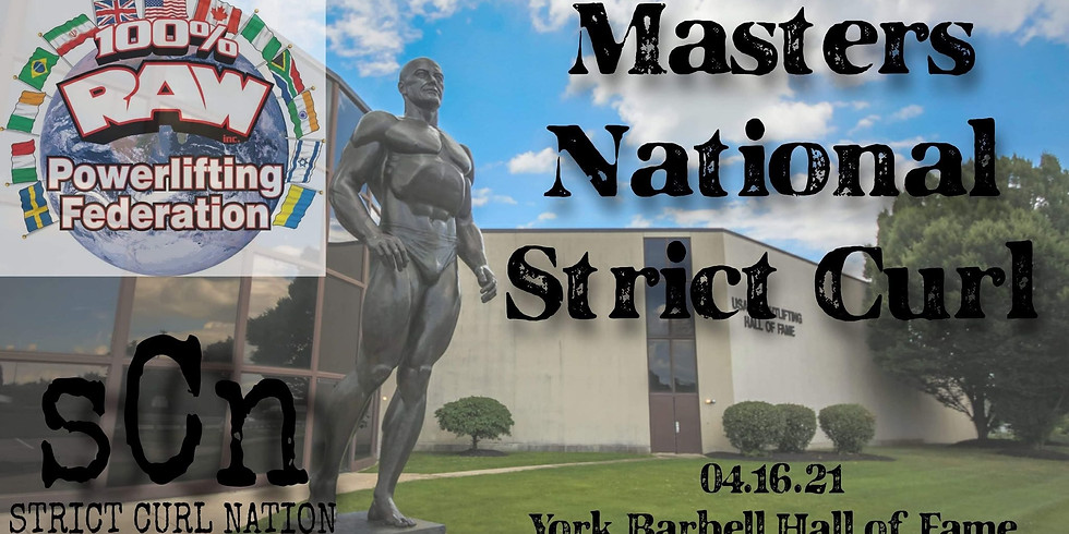 2021 MASTER'S NATIONALS STRICT CURL CHAMPIONSHIP
