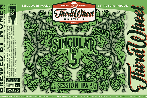 Singular Day 5.0 4-Pack 16 oz cans