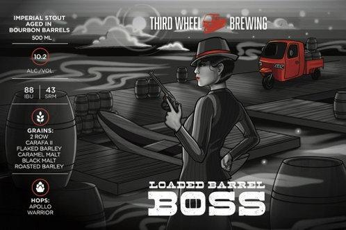 Loaded Barrel BOSS 3-Pack 500ml bottles