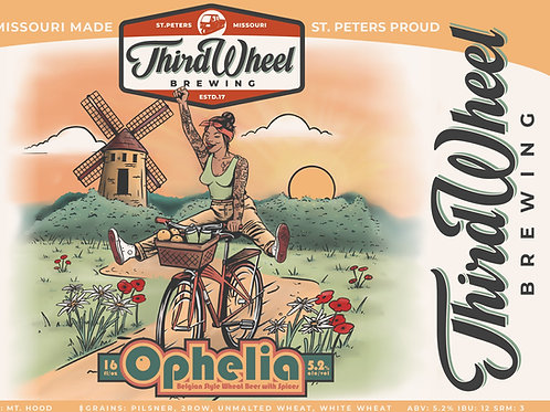Ophelia's Wit 4-Pack 16oz cans