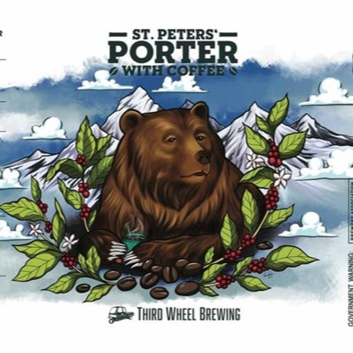 Saint Peter's Porter with Coffee 4-Pack 16 oz cans