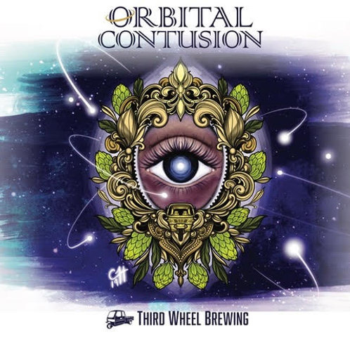 Orbital Contusion 4-Pack 16 oz cans