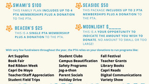 JOIN THE PTA! MEMBERSHIP DRIVE ENDS 10/15!!