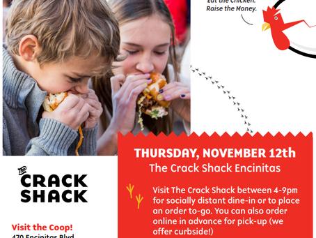 Crack Shack Restaurant Night