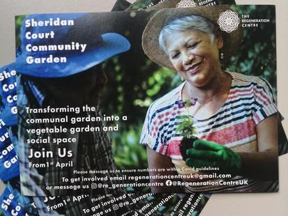 Launch of Sheridan Court Community Garden
