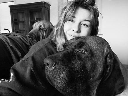 Photo de Mélanie Borgne, fondatrice de Mel Pet & Co
