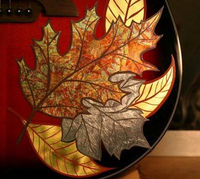 Gold Leaf Guitar