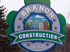 Branon Construction Sign