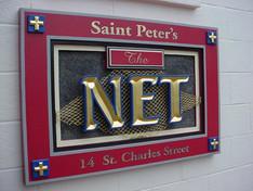 Saint Peter's Church Net Sign