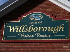 Willsborough Town Sign