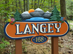 Langey Dimensional Sign