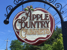 Apple Country Cabinets Sign