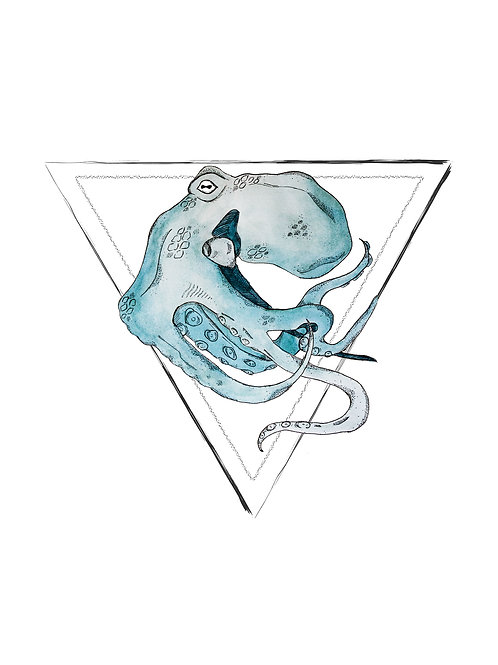 🜄 Water Print (8x10)