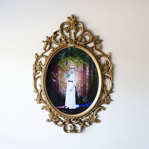 L'Imperatrice Baroque Framed Art (23x34)