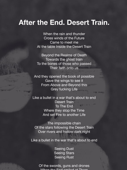 After the End. Desert Train