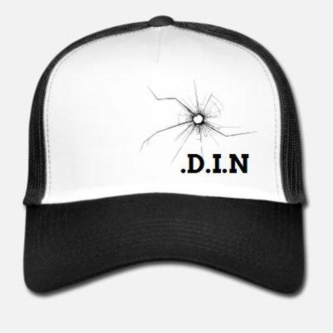 .D.I.N Trucker Cap White
