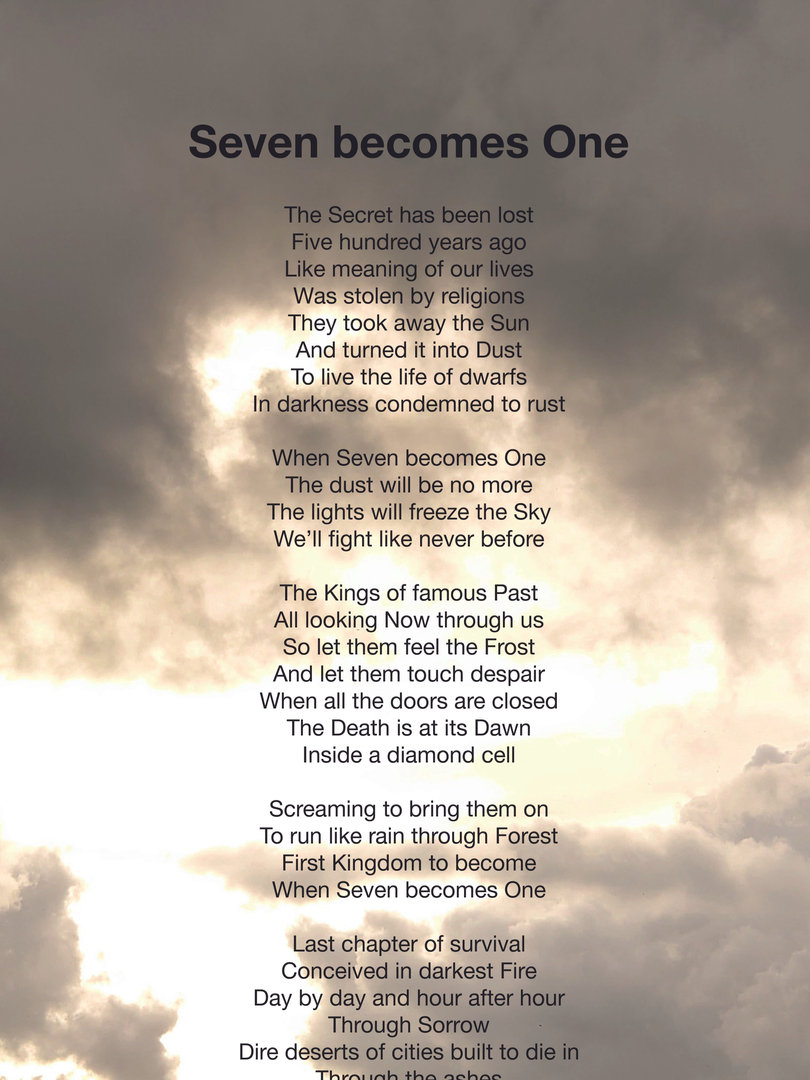 Seven becomes One