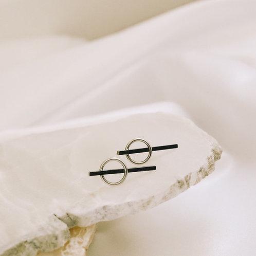 toggle earrings