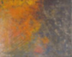 """Kabocha"" - Acrylic paint 11""x14""x5/8"""