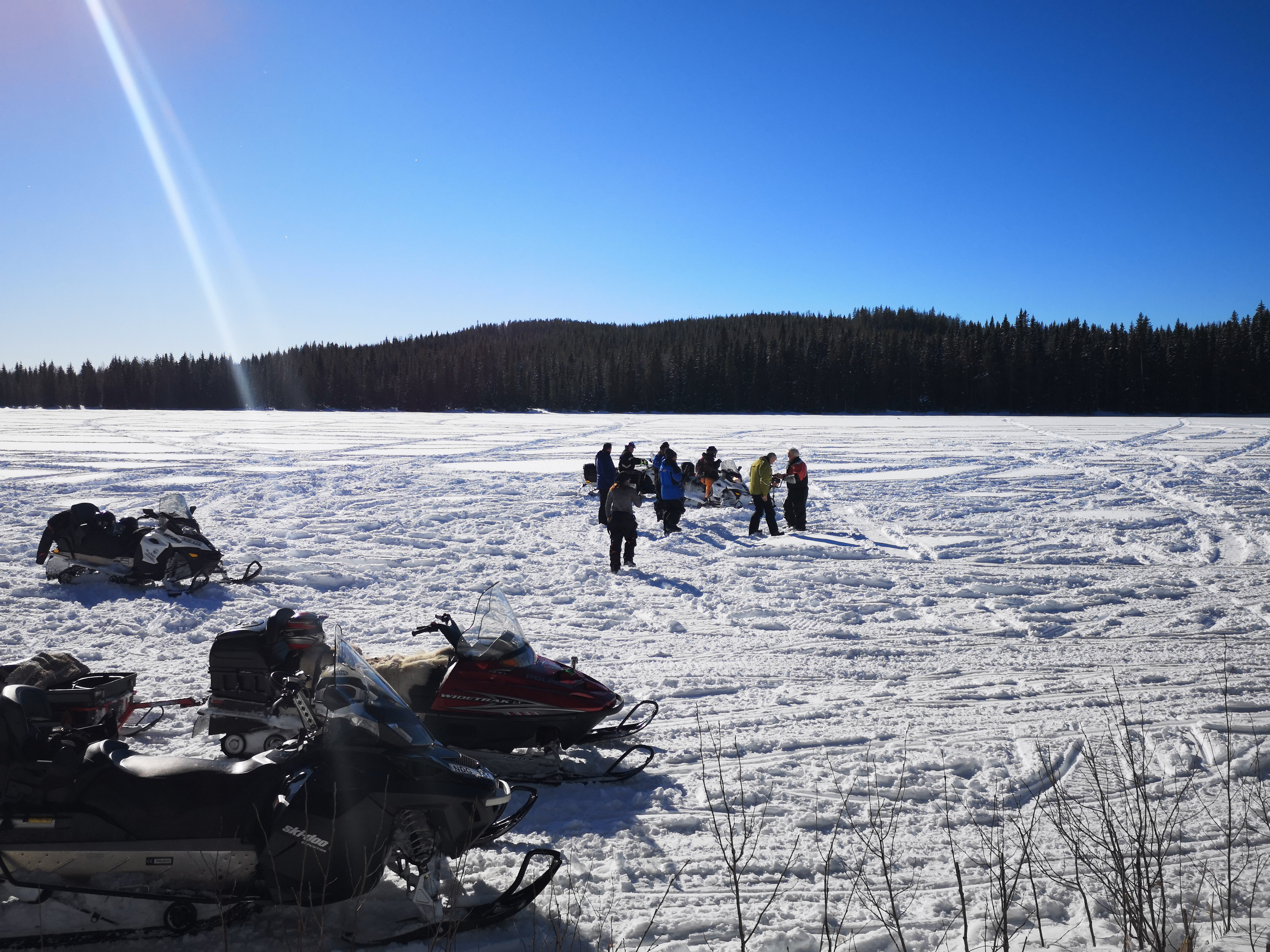 Telron ice fishing
