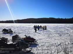 Telron ice fishing