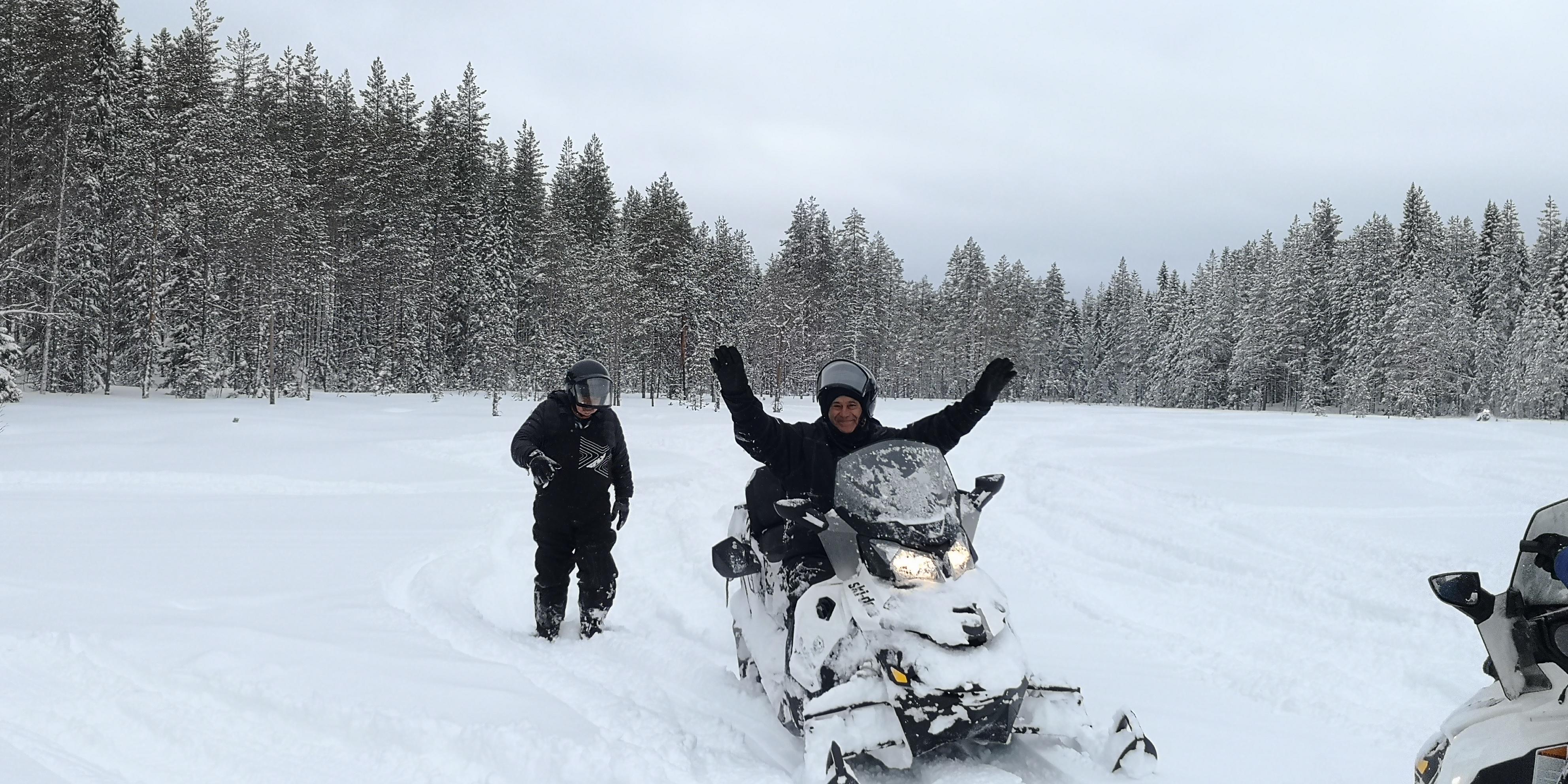 Telron snowmobile safari 11