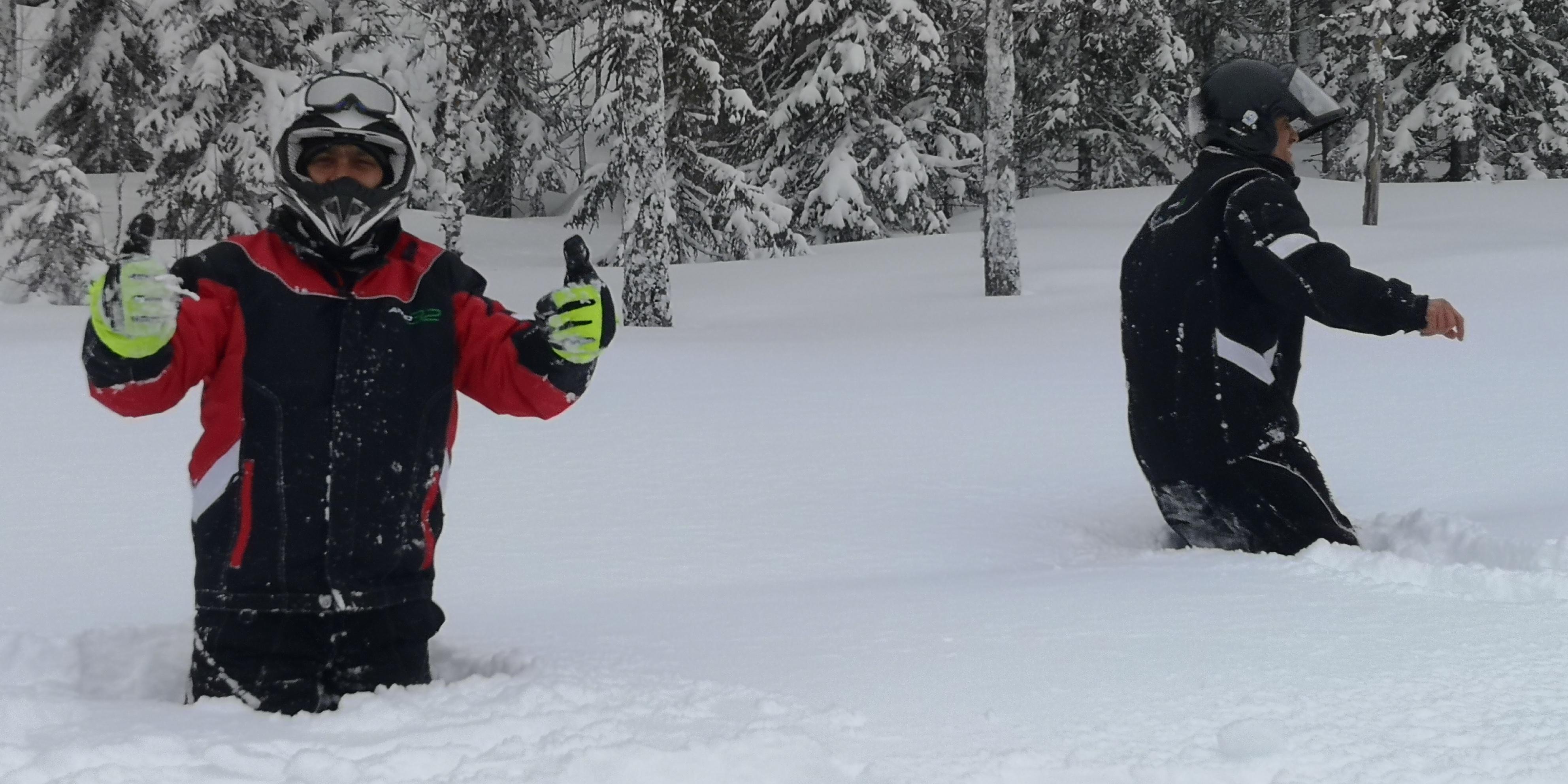 Telron snowmobile safari6