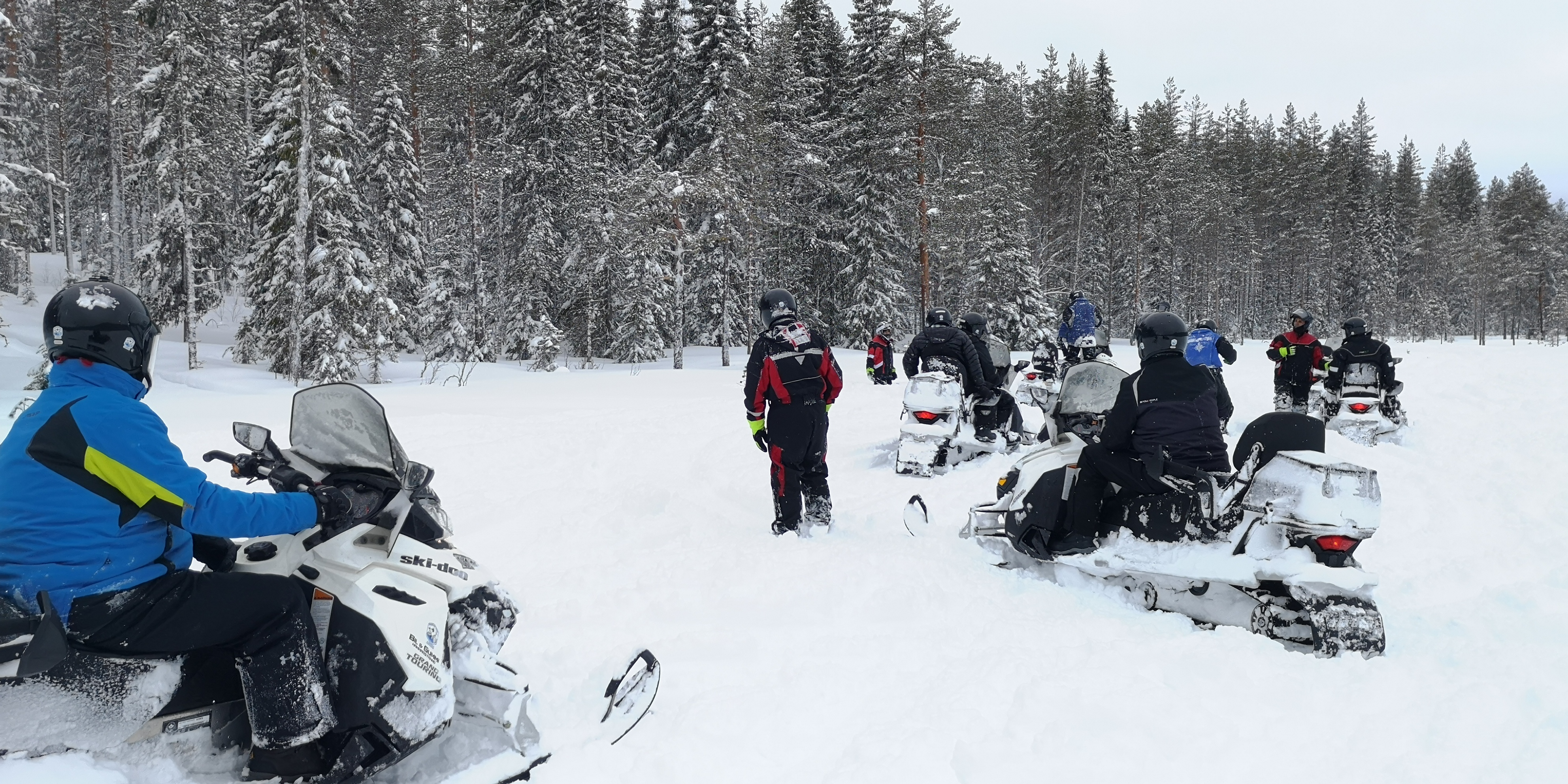 Telron snowmobile safari2