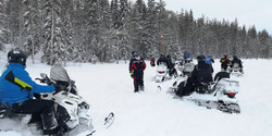 Telron snowmobile safari2