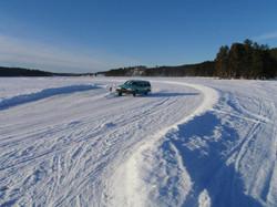 Telron ice driving