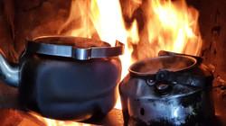 Snowmobile safari outdoor cooking23