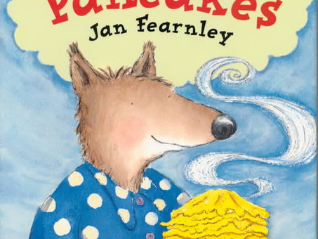 Book Review - Mr Wolf's Pancakes