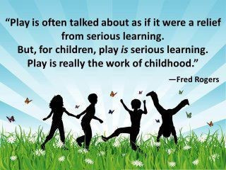 How to help children play...….