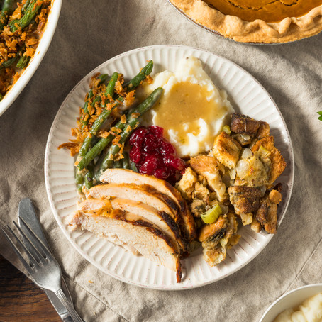 Seven mindful strategies for handling the Thanksgiving stuffing