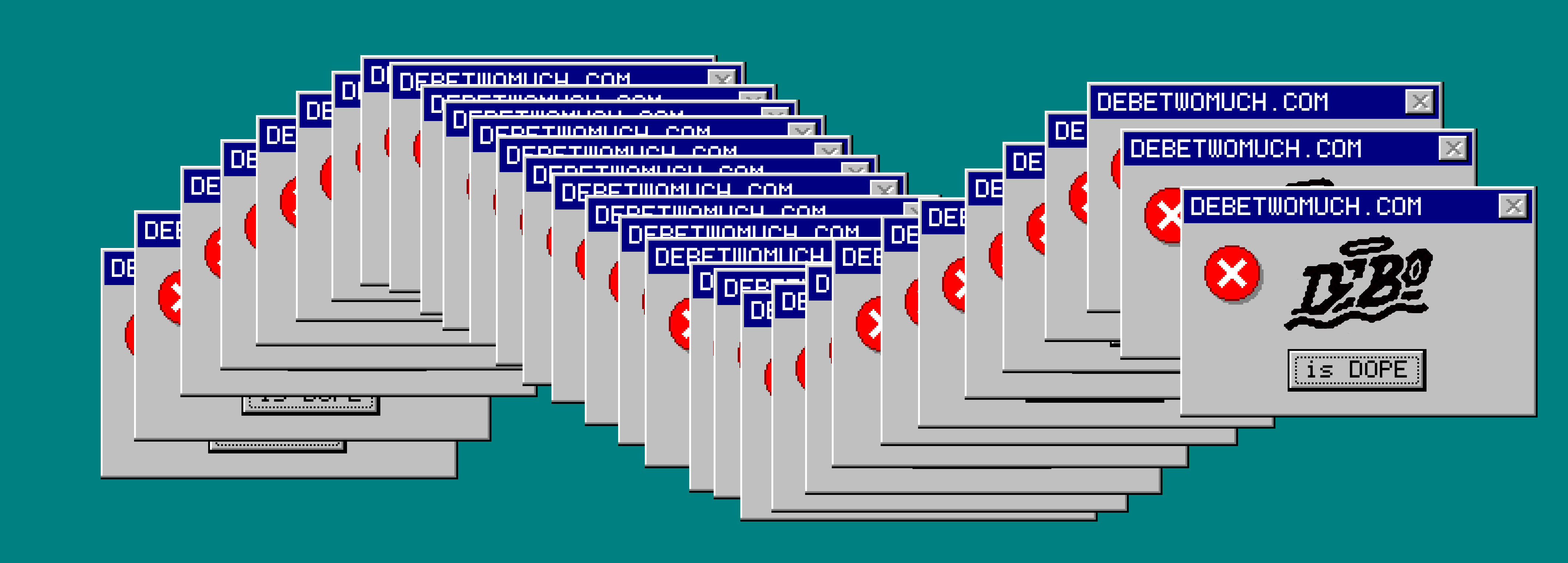 Windows 95 glitch
