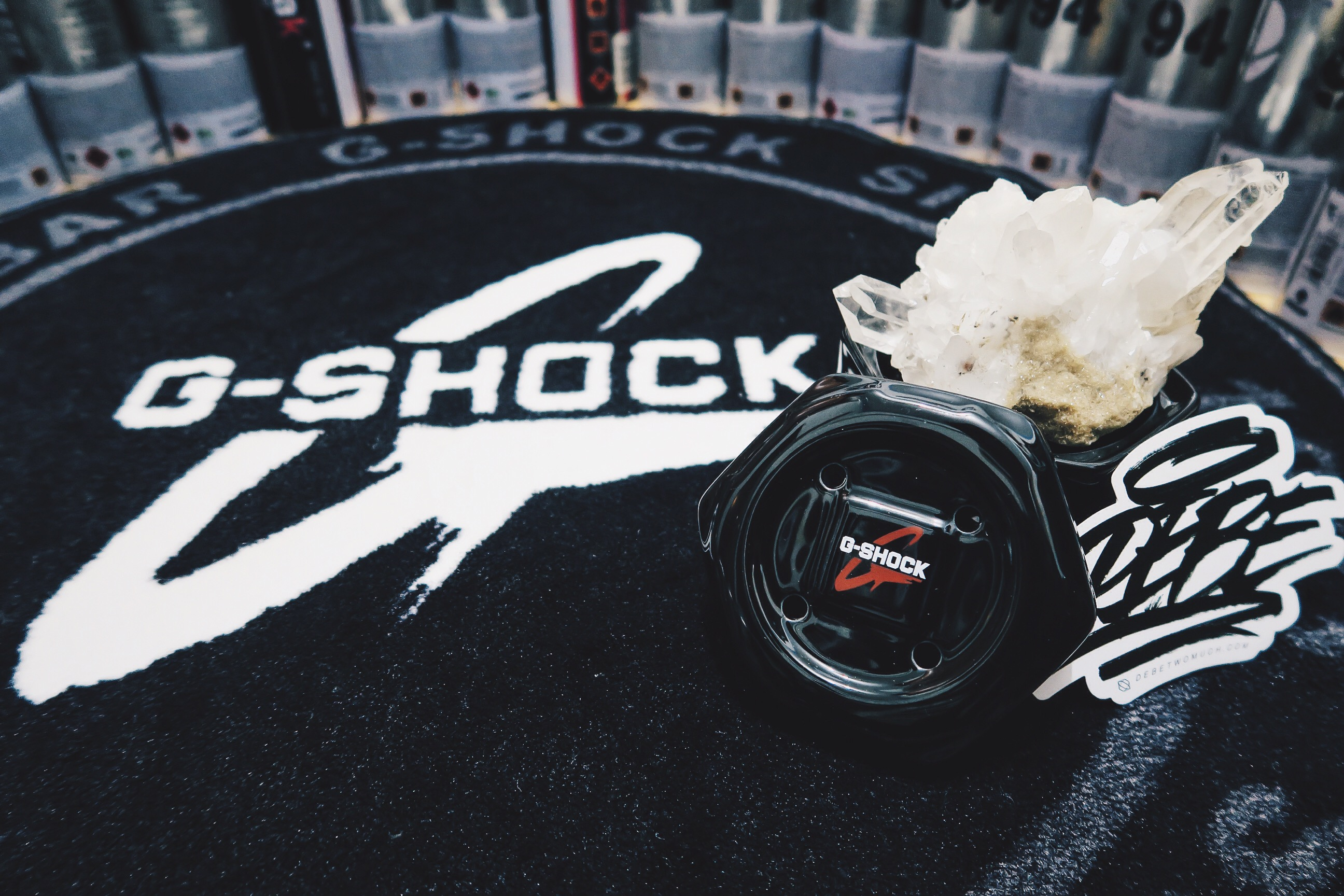 Big thanks for G-shock!