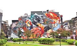 西門町-百年風華 街區塗鴉造景計劃