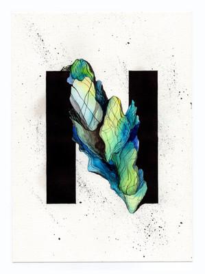 Typography : N