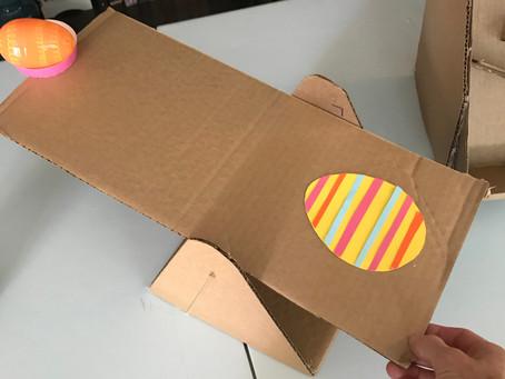 #IAmIngenious Easter Egg Catapult Challenge